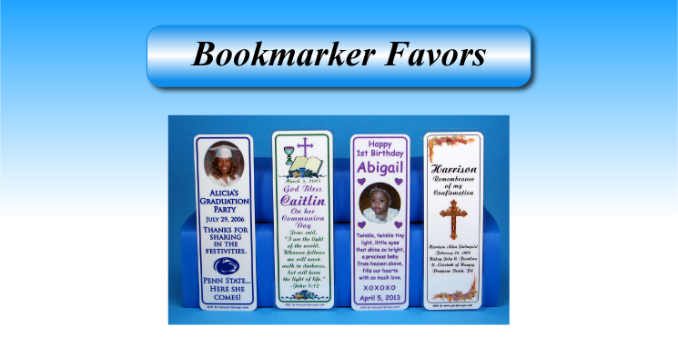 Bookmarker Favors