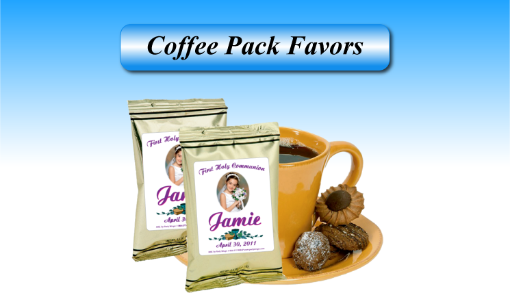 Personalized Coffee packs