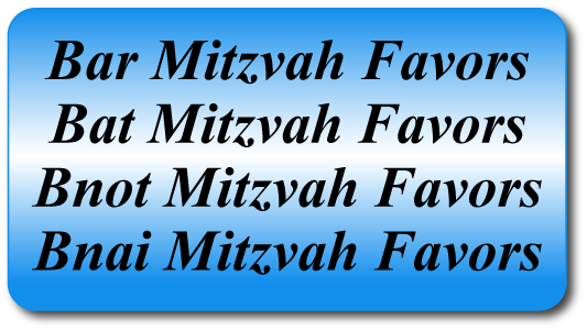 Bar & Bat Mitzvah Party Favors