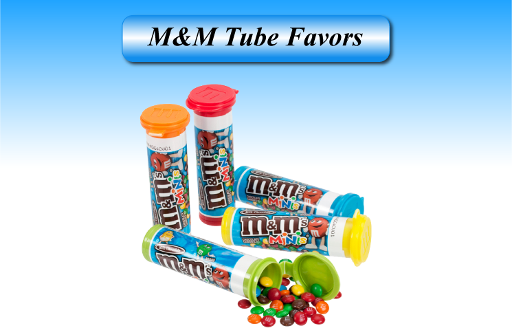 M&M Tube favors